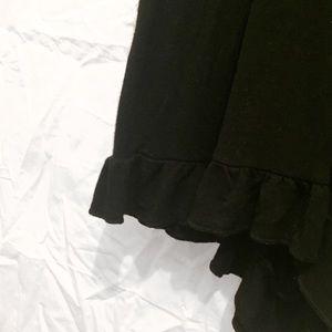 Rue21 Pants - Black Ruffle Romper